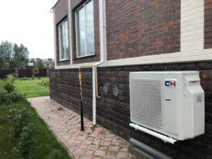 Отопление загородного дома тепловым насосом серии ARCTIC NG модель 18.