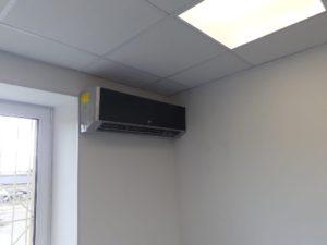 Отопление торгового зала тепловым насосом серии SUPREME модель 12.