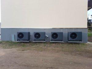 Наружные моноблоки  для отопления и ГВС.