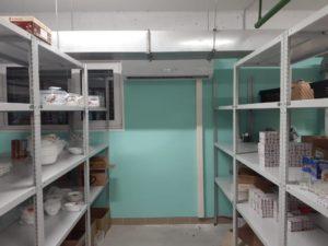 Отопление склада магазина Пятерочка тепловым насосом серии ICY II — 24.